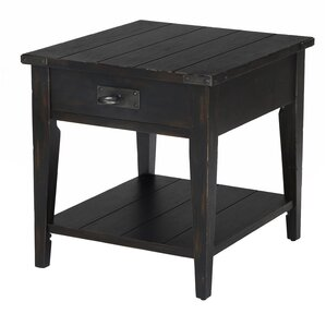 Ilia End Table by Gracie Oaks