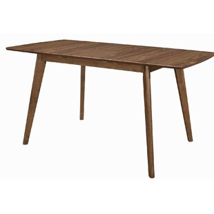 Fortunato Drop Leaf Dining Table George Oliver
