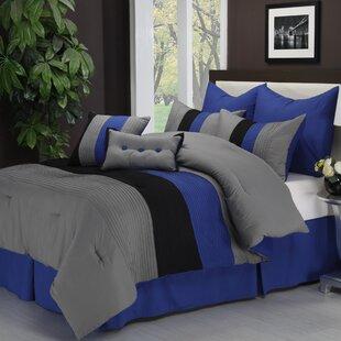 Stockbridge 8 Piece Reversible Comforter Set by Latitude Run