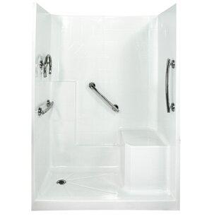 Buy luxury Freedom 77 x 60 x 33 Three Panel Shower Wall ByElla Walk In Baths