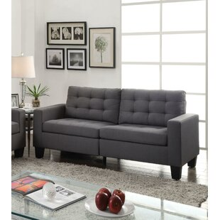 Grey Microfiber Sofas You\'ll Love in 2019 | Wayfair