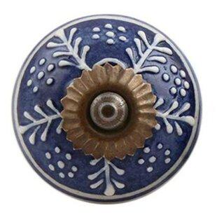 Ceramic Mushroom Knob