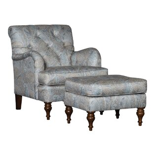 Culbreth Club Chair and Ottoman by Dar by Home Co