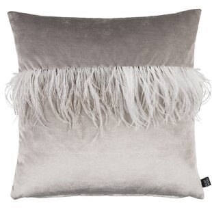 Elinor Feather Throw Pillow