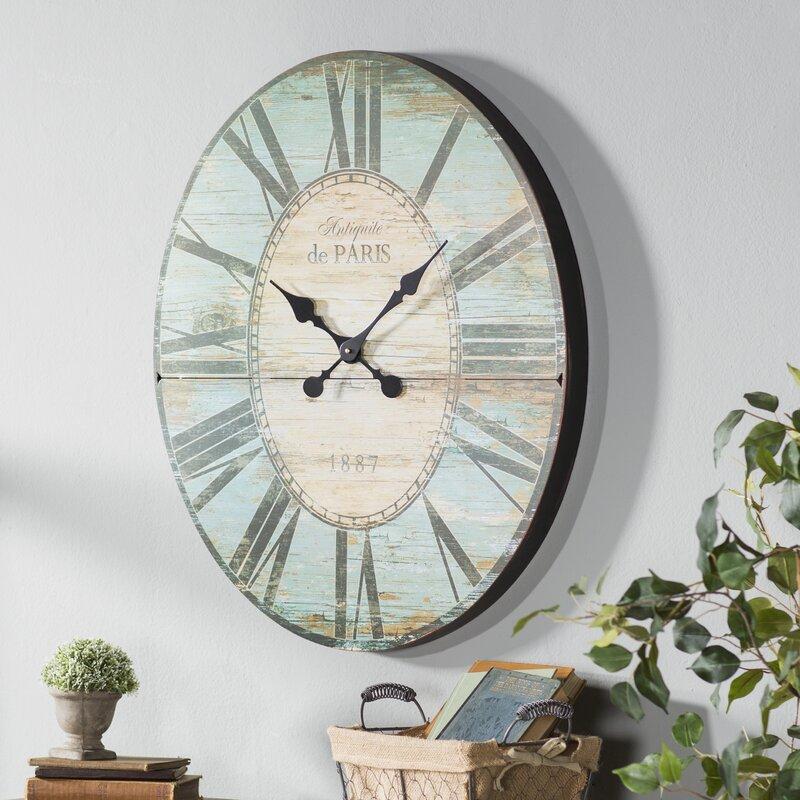 Oversized 29u0027u0027 Oval Wall Clock