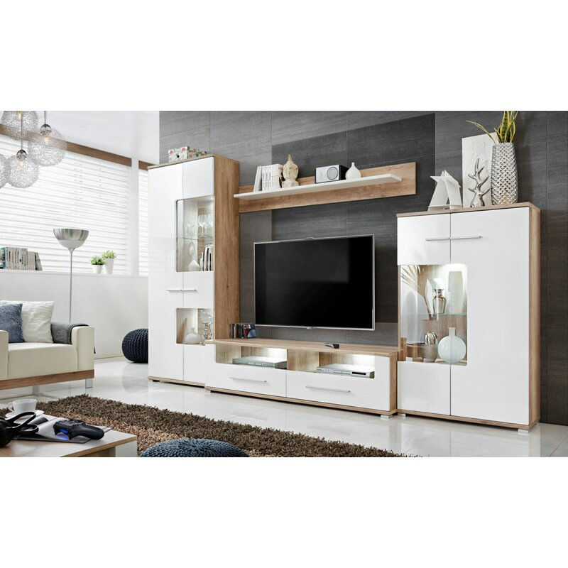 """Faribault Entertainment Unit for TVs up to 8"""""""