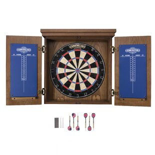 Wood Bristle Dartboard Cabinet Wayfair