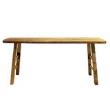 Alyce 66 Solid Wood Console Table by Loon Peak®