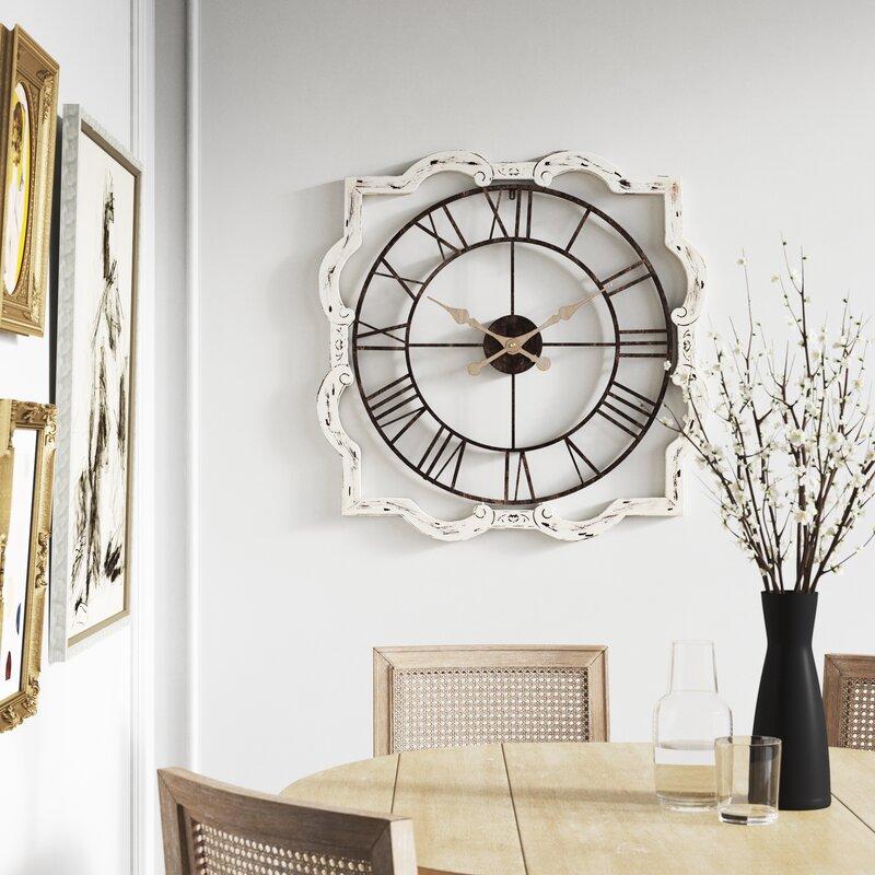 Kelly Clarkson Home Oversized Gabie 32 Wall Clock Reviews Wayfair