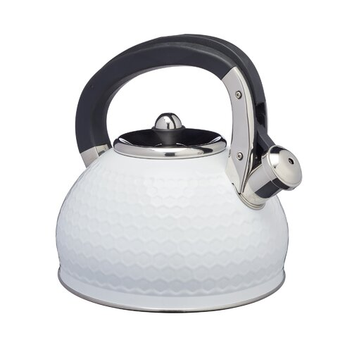 Lovello 2.5L Stainless Steel Whistling Stovetop Kettle Kitch