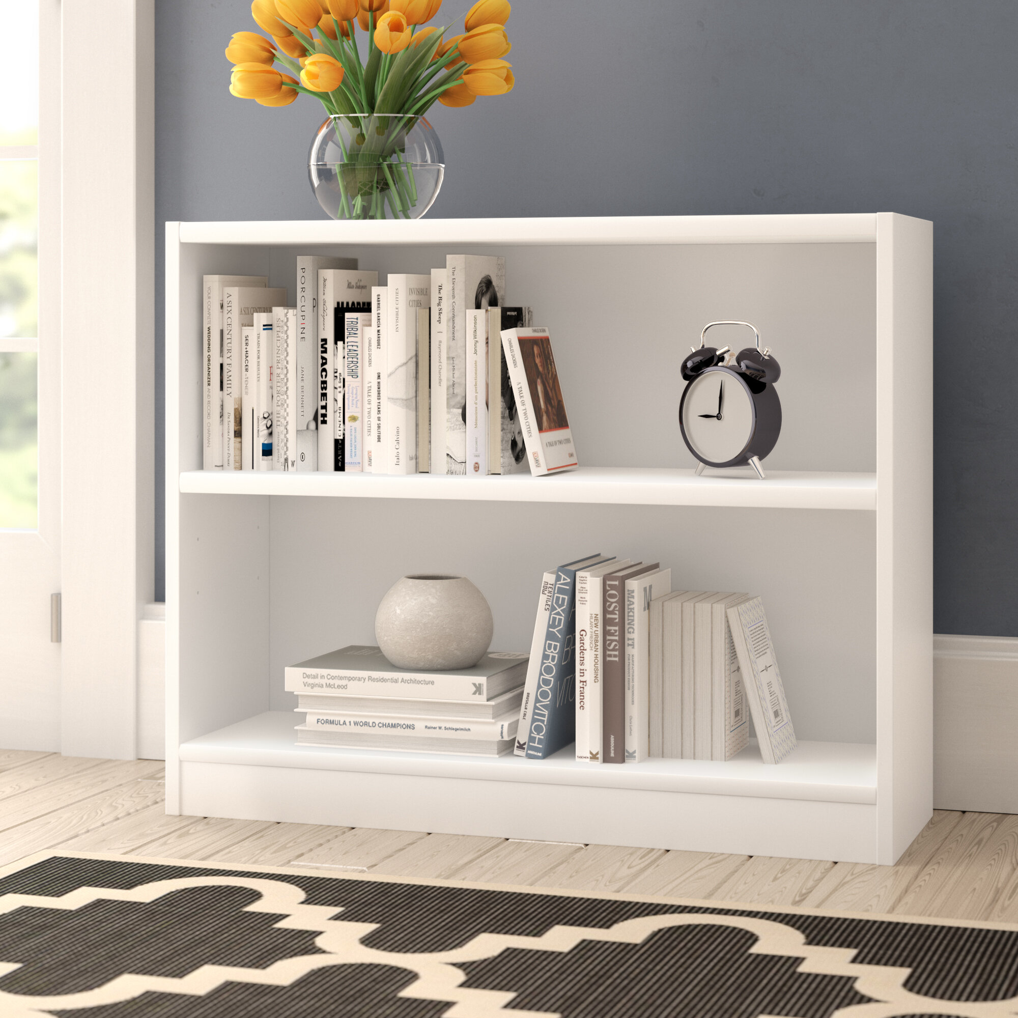 Low & Horizontal Bookcases You'll Love in 2020 | Wayfair
