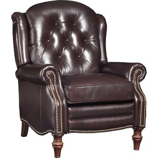 Victoria Leather Manual Recliner Hooker Furniture