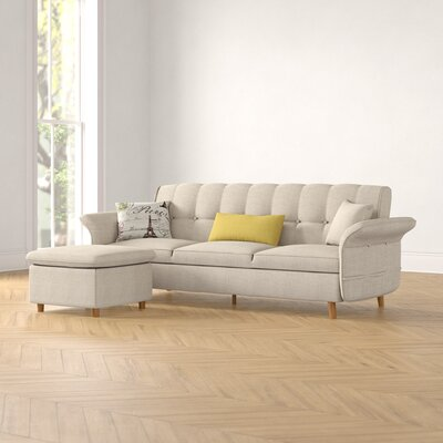 Cuddler Sectional Sofa Wayfair