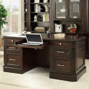 Bissette Executive Desk in Cherry