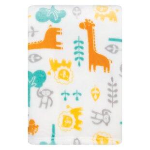 Tweedy Lullaby Jungle Plush Baby Blanket ByHarriet Bee