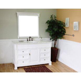 Kendall 60 Single Bathroom Vanity Set by Bellaterra Home