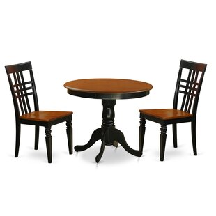 Jordy 3 Piece Dining Set August Grove