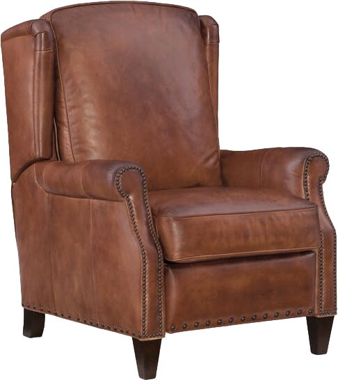 Silas Leather Recliner  sc 1 st  Wayfair & Hooker Furniture Silas Leather Recliner u0026 Reviews | Wayfair islam-shia.org