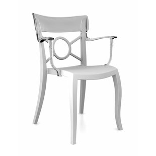 Opera-K Stacking Patio Dining Chair (Set of 4)