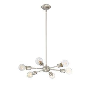 Silver chandeliers youll love wayfair save aloadofball Choice Image