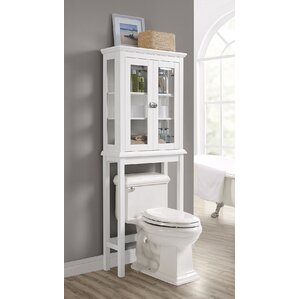 Bathroom Space Saver over the toilet storage cabinets | wayfair