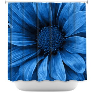 Daisy Grape Single Shower Curtain