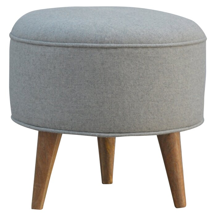 competitive price cc96a 43fdb Upholstered Round Ottoman