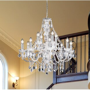 Pillar candle chandelier wayfair 308 candle style chandelier aloadofball Image collections