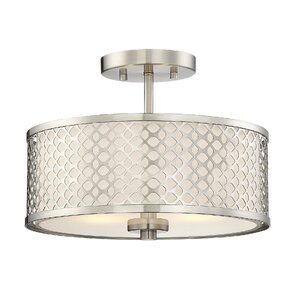 Coolidge 2-Light Semi Flush Mount