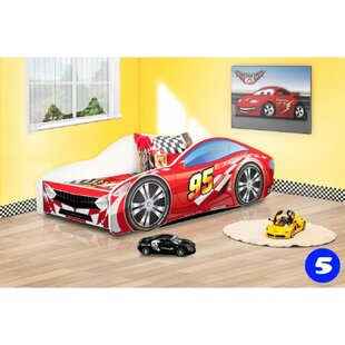 Grier Kid Race Twin Car Bed