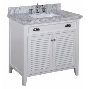 Savannah 36 Single Bathroom Vanity Set by Kitchen Bath Collection