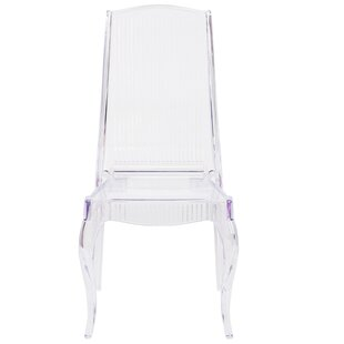 Carey Clear Stacking Chair (Set Of 2)
