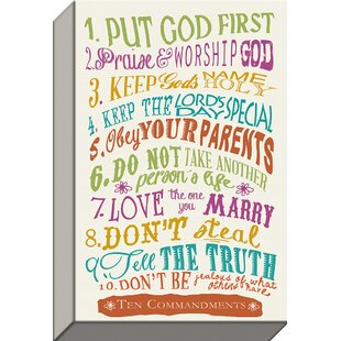 10 Commandments | Wayfair