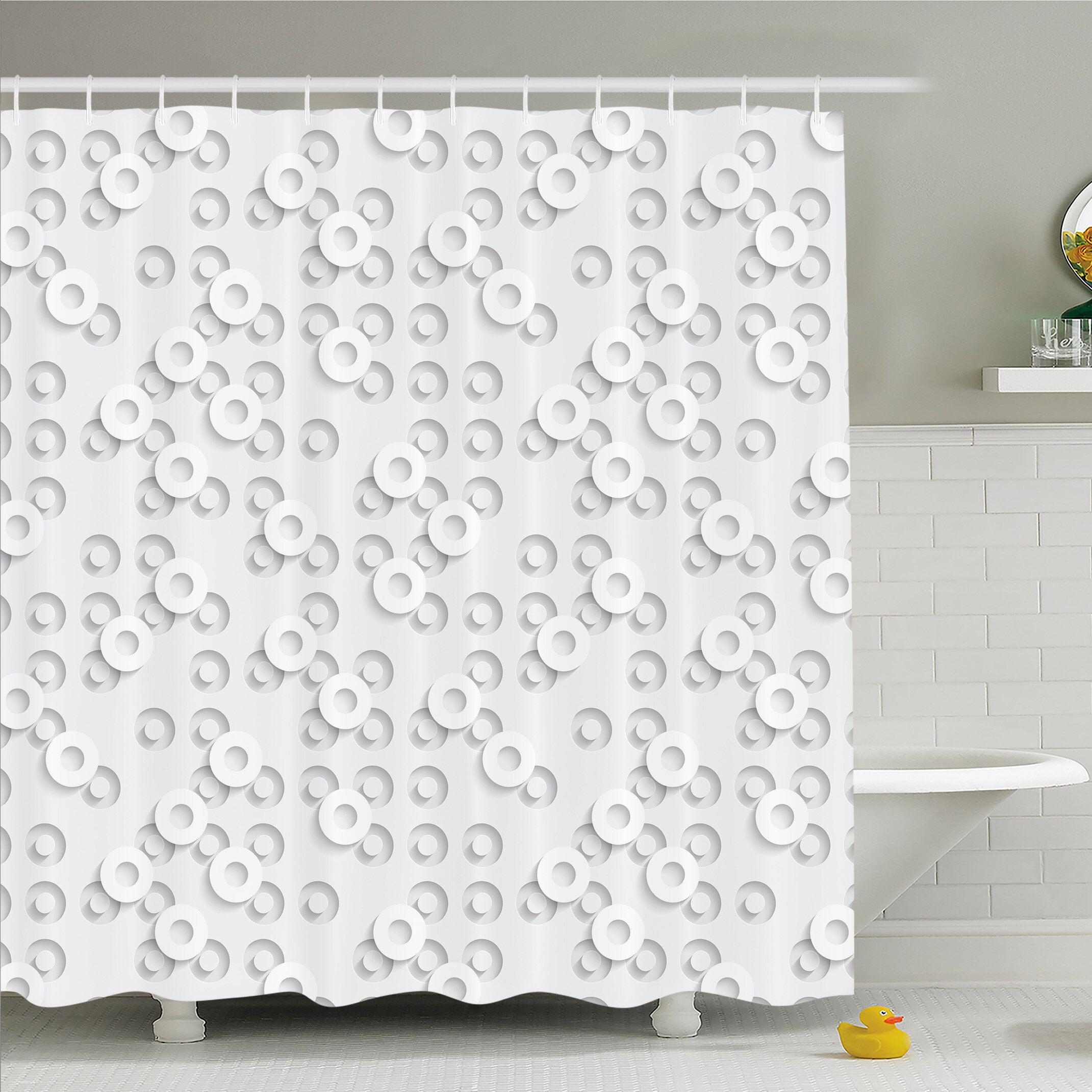 Standard Ambesonne Shower Curtains Shower Liners You Ll Love In 2021 Wayfair