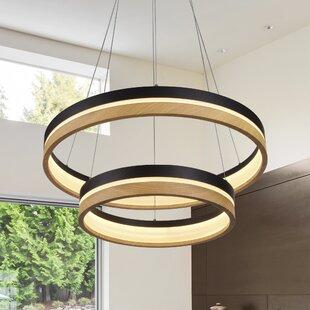 Pyxis 2-Light  LED  Chandelier ByBrayden Studio