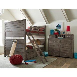 Where buy  Hanah Bunk Configurable Bedroom Set ByHarriet Bee