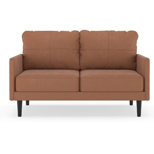 Courtright Microsuede Loveseat