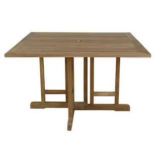 Montage Folding Wooden Console Table