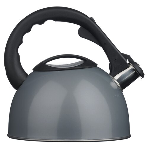 2.5L Stainless Steel Whistling Stove Top Kettle Symple Stuff Colour: Silver
