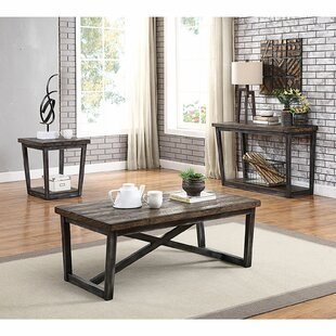 Clarkson 3 Piece Coffee Table Set by Gracie Oaks