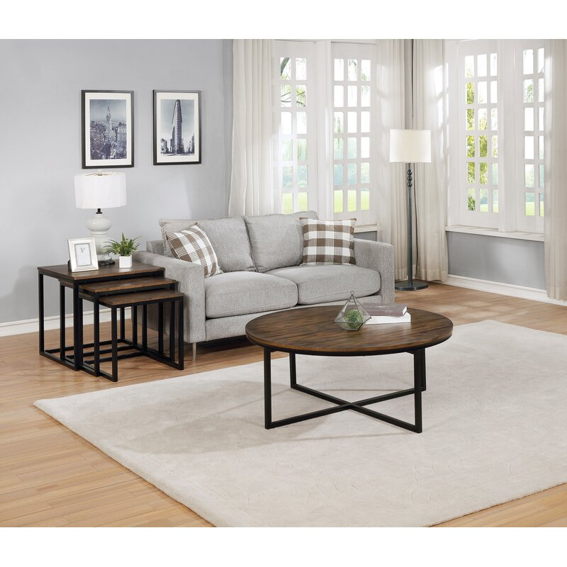 Gracie Oaks Hensley Round Coffee Table