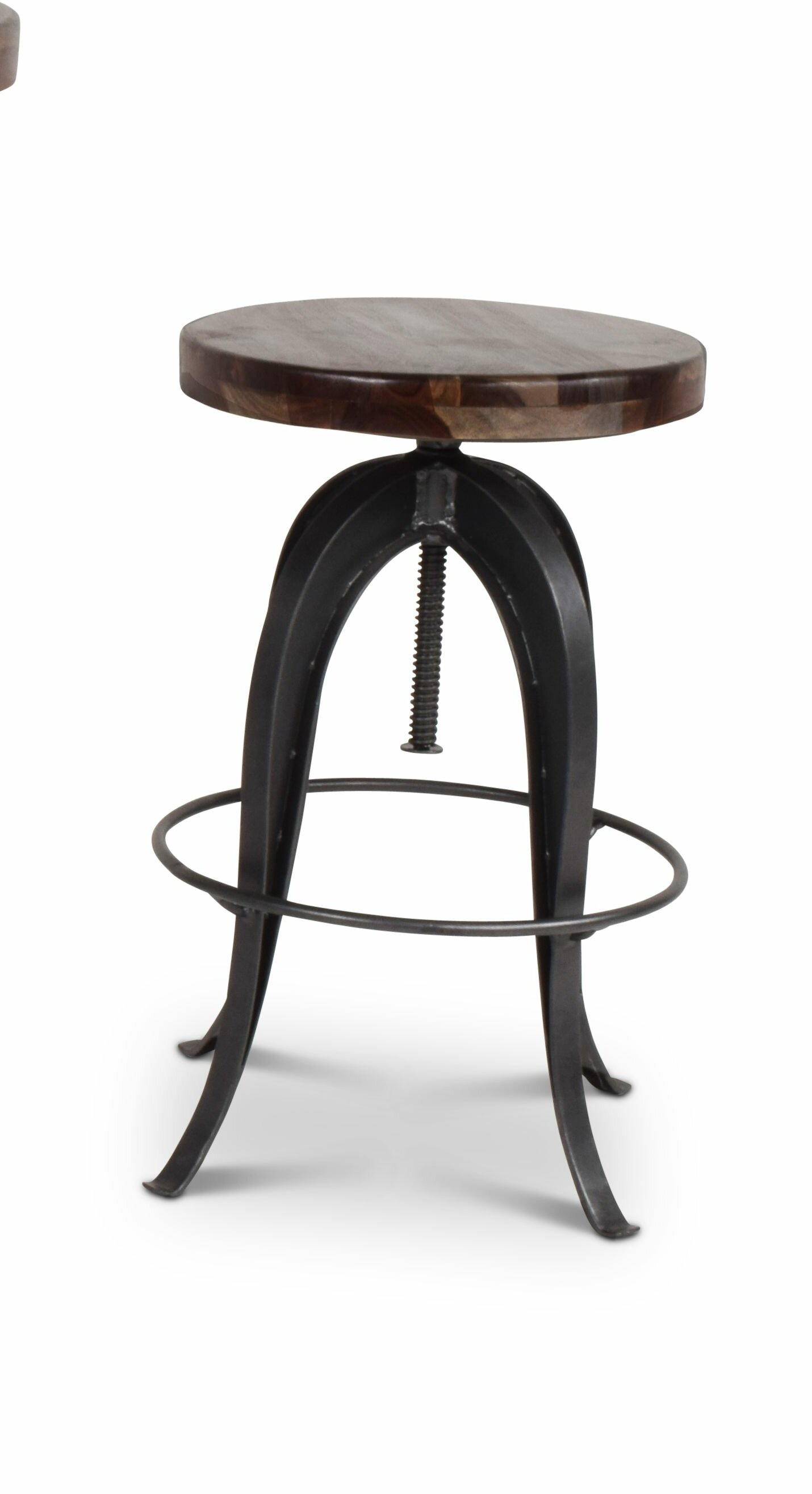 Phenomenal 17 Stories Grigor Adjustable Height Swivel Bar Stool Inzonedesignstudio Interior Chair Design Inzonedesignstudiocom
