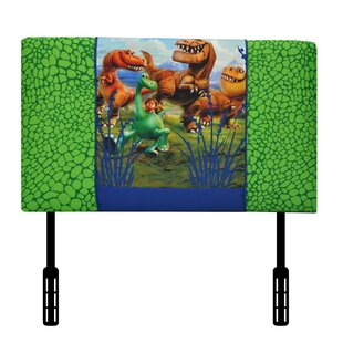 Check Prices Disney's the Good Dinosaur Twin Upholstered Headboard by Kidz World Reviews (2019) & Buyer's Guide