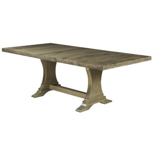 Augusto Maple Extendable Solid Wood Dining Table