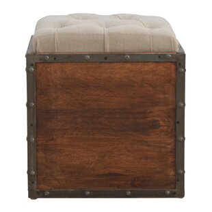 Compare prices Country Style Solid Wood Storage Box By17 Stories