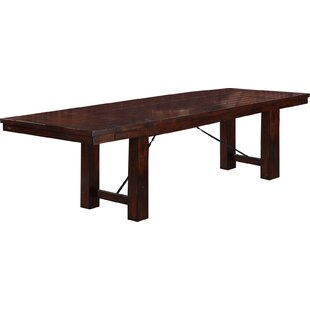 Seiling Extendable Dining Table Loon Peak