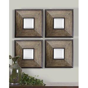 fendrel wall mirror set of 4