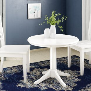Gilberton Solid Wood Dining Table Charlton Home