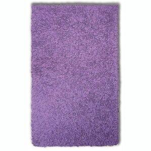 handwoven purple area rug