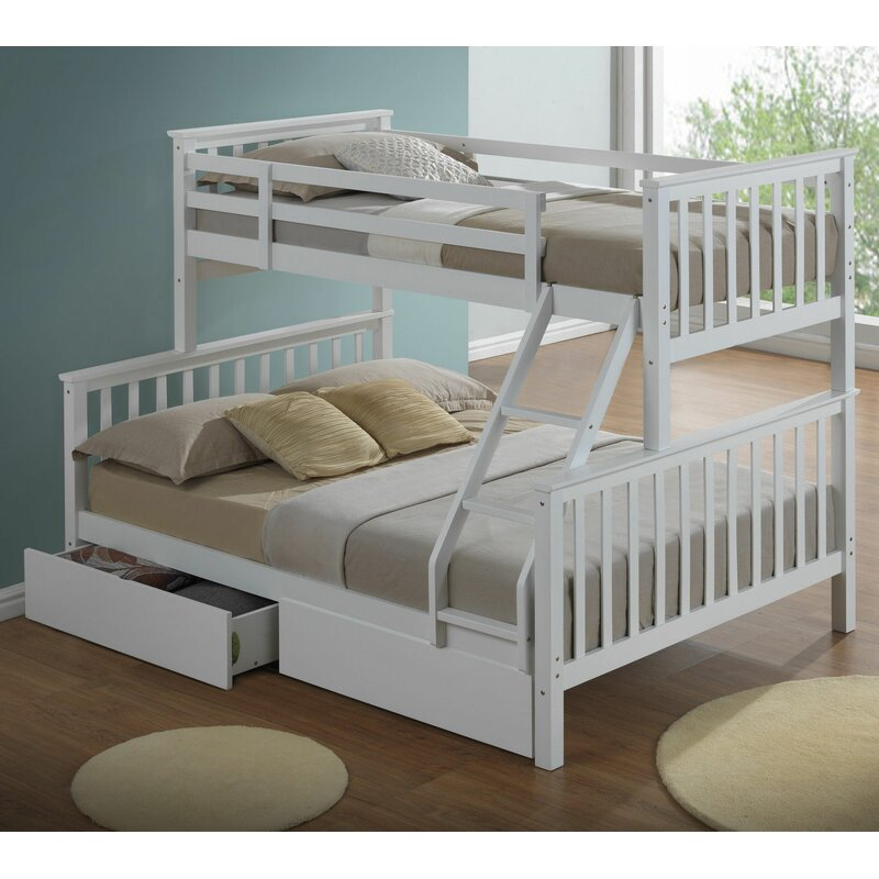 Mara Triple Sleeper Bunk Bed with Storage